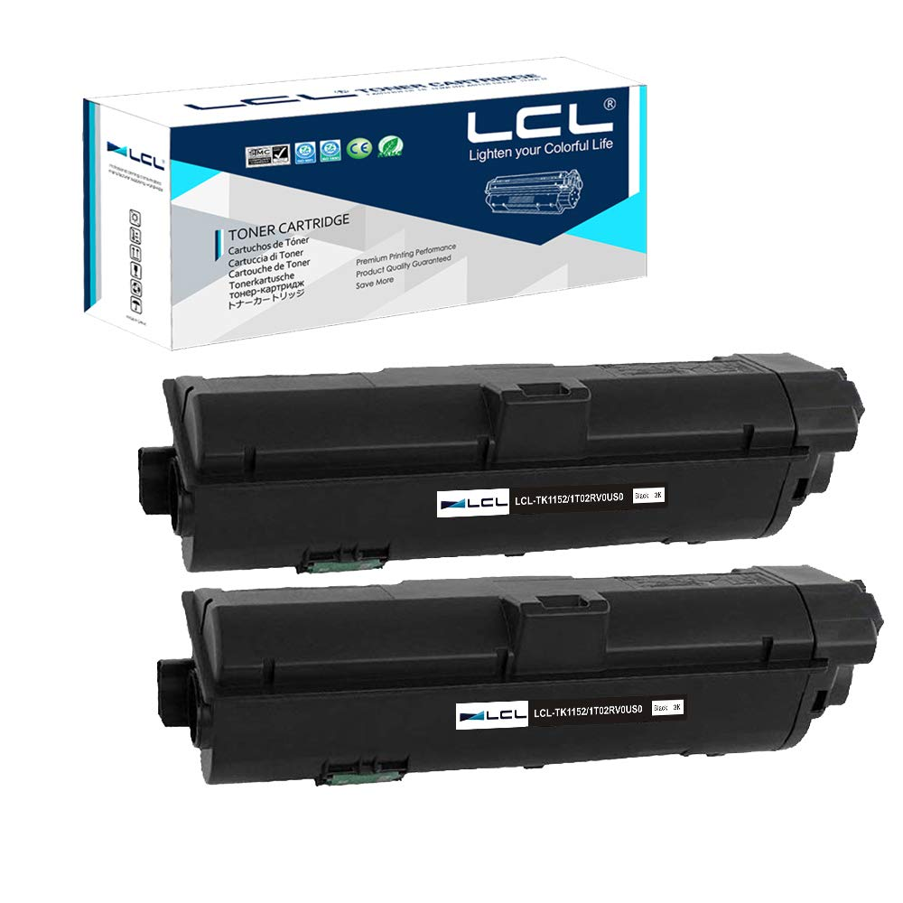 Toner Alternativo ( X2 ) Negro TK1152 TK-1152 1T02RV0US0 2