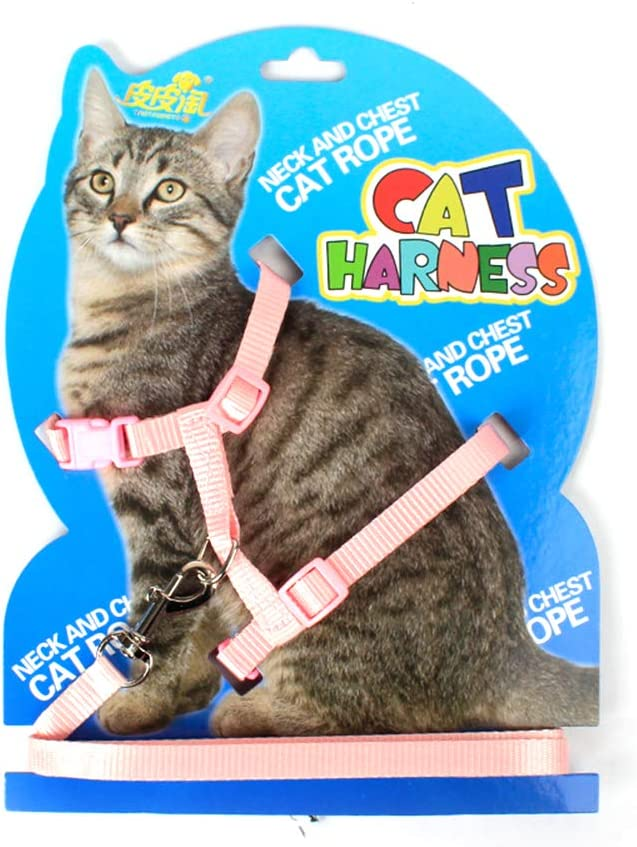 Juego de s/ábanas para Animales arn/és para Gatos EisEyen Cintur/ón para Animales de compa/ñ/ía gu/ía de Marcha cintur/ón de Cuerda Ajustable de Nailon