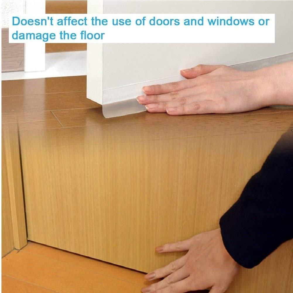 adesivo di tenuta in silicone per porte o finestre Striscia di tenuta Stripping fondo della striscia di porta autoadesiva insonorizzata resistente alle intemperie