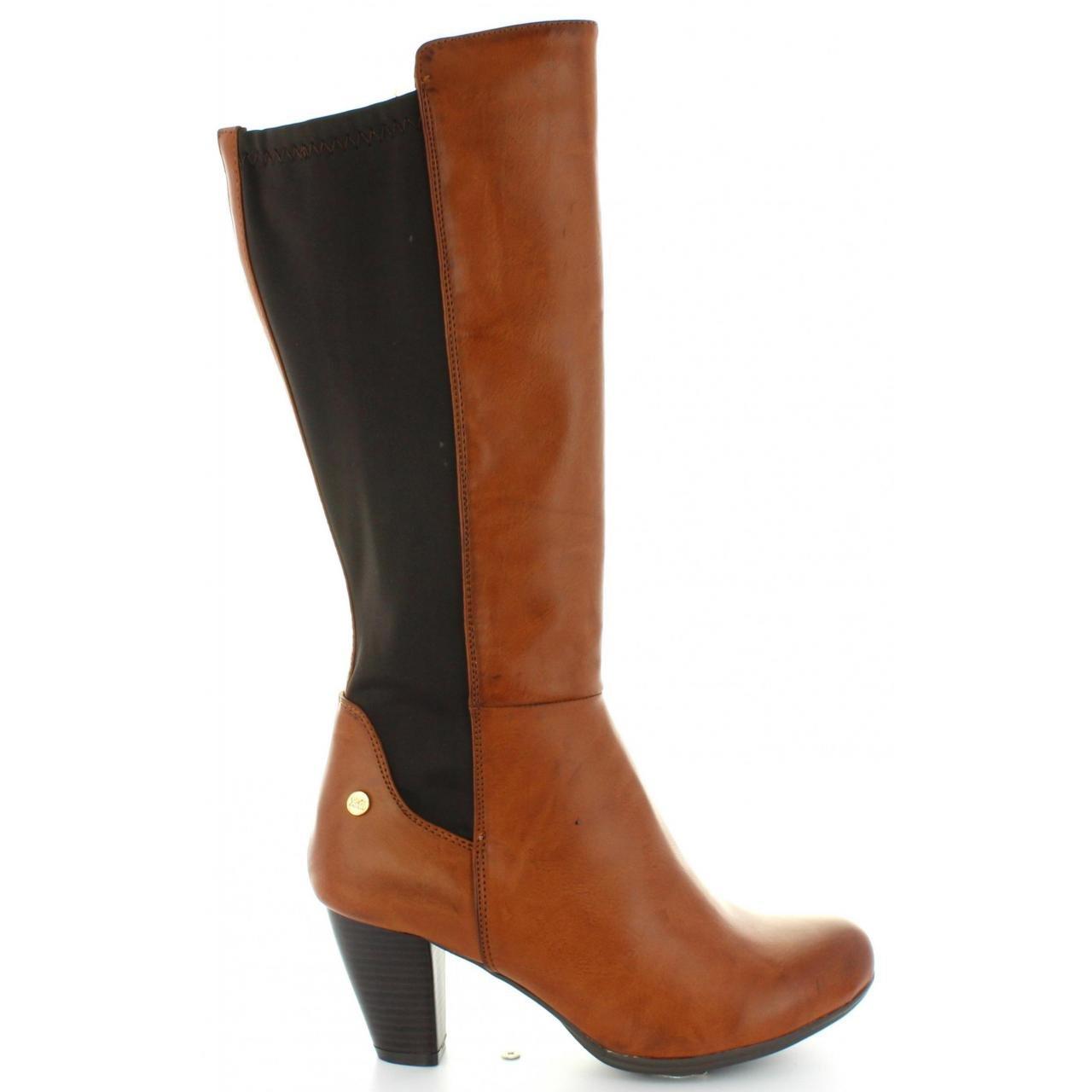 XTI Stiefel für Damen 47536 C Camel