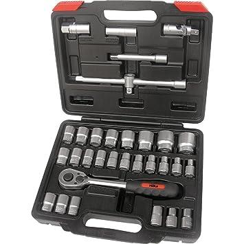 """Hilka Set 3 Impact Socket Adaptors 3//8/""""F x 1//4/""""M   1//2/""""F x 3//8/""""M   3//4/""""F x 1//2/""""M"""