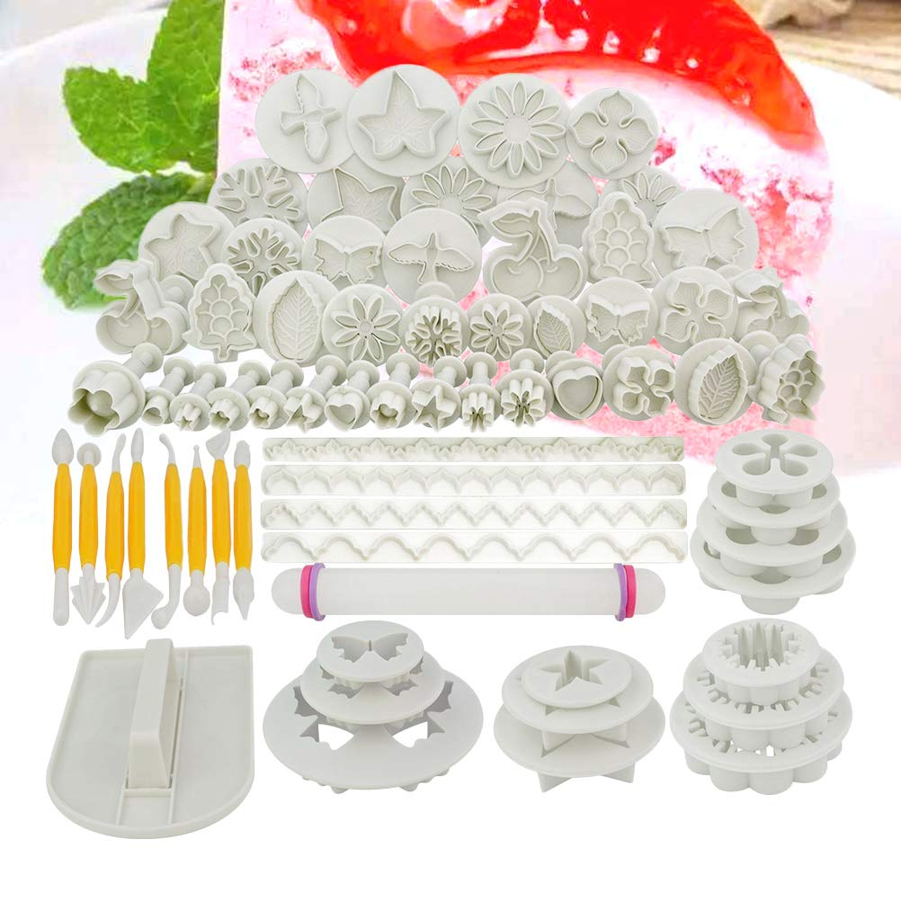 Artibetter 68pcs Entremet Cake Molds Beautiful Dessert Biscuits Baking Mould for Home Store Kitchen by Artibetter (Image #5)