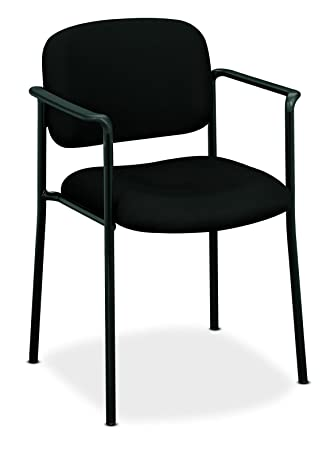 hon guest chairs. HON Scatter Guest Chair - Upholstered Stacking With Arms, Office Furniture, Black ( Hon Chairs