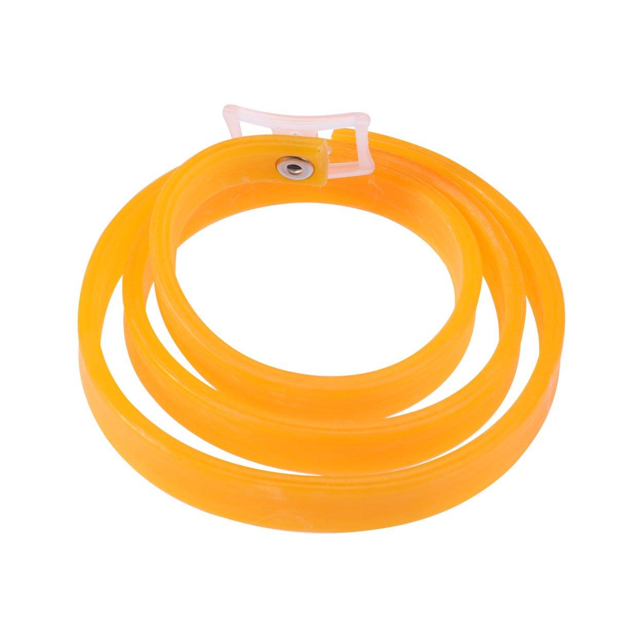 UEETEK Colliers anti-puces et tiques pour chiens chats Collier Réfléchissant de Sécurité (Orange)