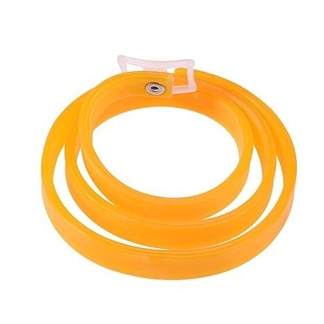 UEETEK Collares antipulgas y garrapatas para Perros Gatos Collares Reflectante (Naranja)