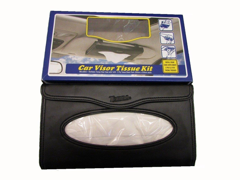 Black Tempo Visor Tissue Case Starter Kit