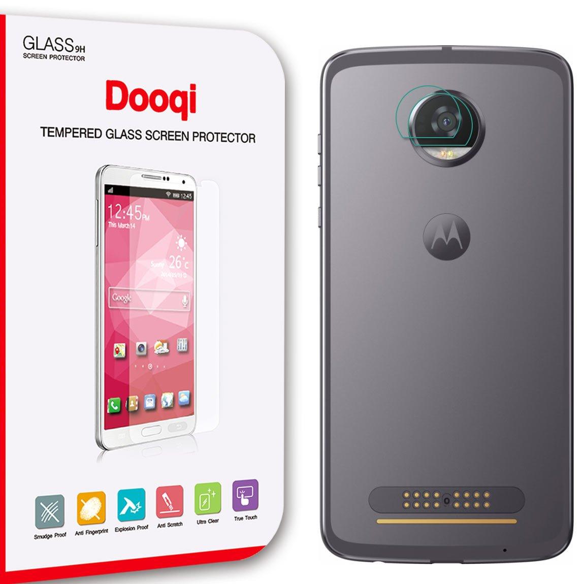 2X Dooqi Back Camera Lens Tempered Glass Film Protector For Motorola Moto Z2 Play by dooqi (Image #1)