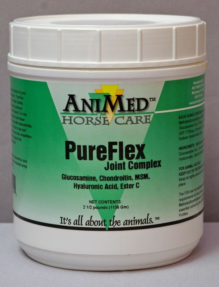 ANIMED 2.5 lb PureFlex Joint Complex for Aging Horses with Arthritis or Horses with Joint Stress