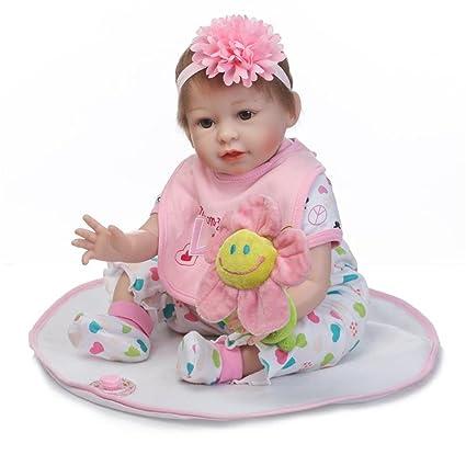 Amazon.com: Lifelike - Muñeca de silicona para bebé de 3 a ...