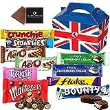 British Chocolate Bar Selection Box - 10 FULL SIZE