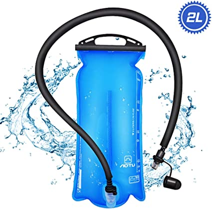 2 Liter Water Bladder Leak Proof Water Reservoir Hydration Pack Running Camping