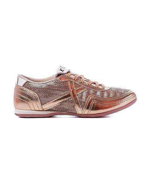 dbb7789eec370 Munich Zapatillas Deportivas Rosa Oro SOTIL 339 (36 - Oro)  Amazon.es   Zapatos y complementos