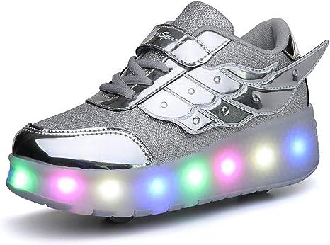 Zapatos con Ruedas Ruedas para niños y niñas Zapatillas con