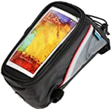 Roswheel Cycle Bike Bicycle Mobile Phone iPhone Holder Frame Bag Pouch Case (5.5 inch)