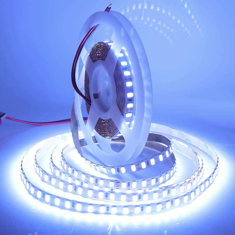 5m 600 LED Strip Light 12V IP65 2835 5050 5054 5630 Waterproof Kitchen Xmas LAMP