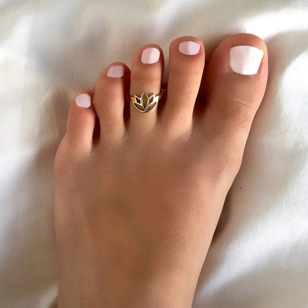 Adjusable Toe Ring Foot Ring Toe Ring Brass Toe Ring Foot Accessories Gemstone Toe Ring Foot Jewelry Gifts Under 20