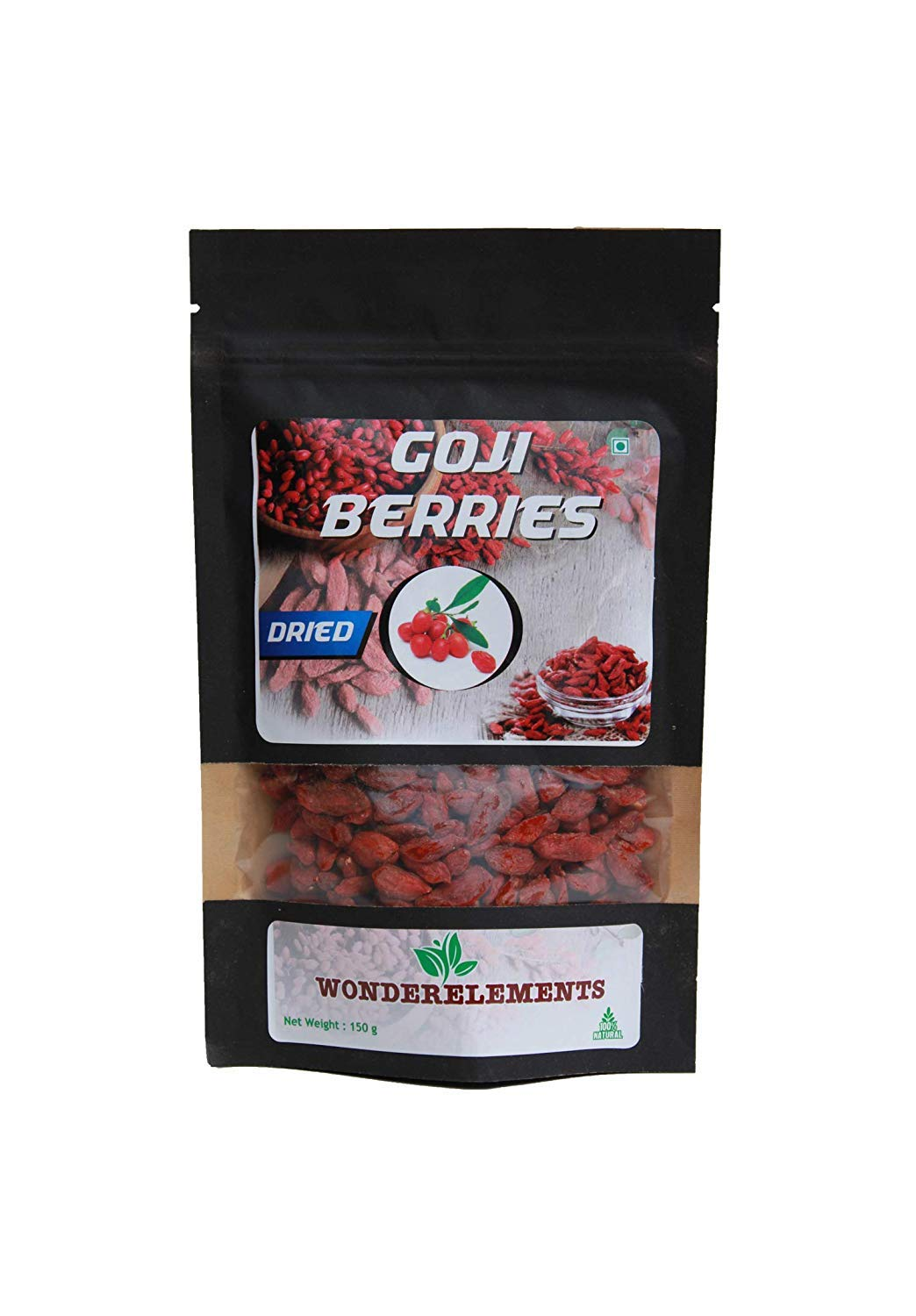 Amazon Com Wonderelements Dried Goji Berries Indian Whole Berry