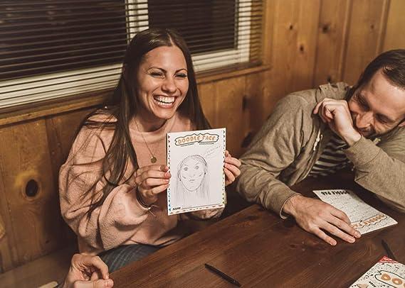 Doodle Face! Un Divertido Juego de Dibujar a Tus Amigos y Familia. El Mejor Juego de Fiesta. 3 – 20 Jugadores. Un Nuevo Mejor ratado Gatwick Juegos de adición.: Amazon.es: Juguetes y juegos