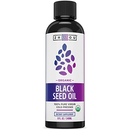 Zhou USDA certified Black Seed Oil Best Value Black Seed Oil