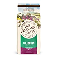 Deals on New England Coffee Colombian Decaffeinated Ground Coffee 10 oz