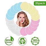 Makeup Remover Pads Reusable - 20 Packs, Candywe