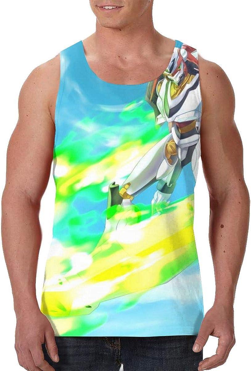 Eureka Seven 3D Creative Men's Tank Top Personalized Sports Sleeveless T-Shirt Vest