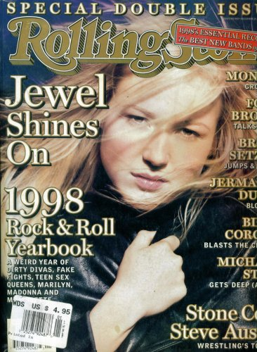 Rolling Stone Magazine #802/803 : 1998 Rock & Roll Yearbook - Jewel Shines On (December 24, 1998)