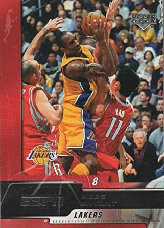 Amazon Com Kobe Bryant 2005 2006 Upper Deck Espn Basketball Series Mint Card 38 Showing This Los Angeles Lakers Star In His Gold Jersey Collectibles Fine Art