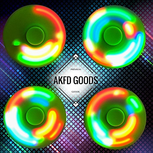 Light Up Fidget Hand Spinner With LED LIGHT ON BUTTON with 3 Shine Modes Brand New Tri Spinner Prime Toy With Color Changing Shining Premium Anxiety Toy Helps Focus For Kids And Adults Stress Reducer