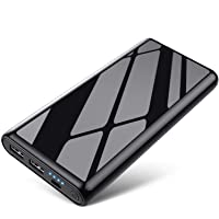 VOOE 25800mAh Portable Power Bank with 2 USB Charging Ports