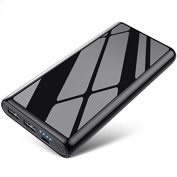Amazon.com: Cargador portátil, batería externa de 25800 mAh ...