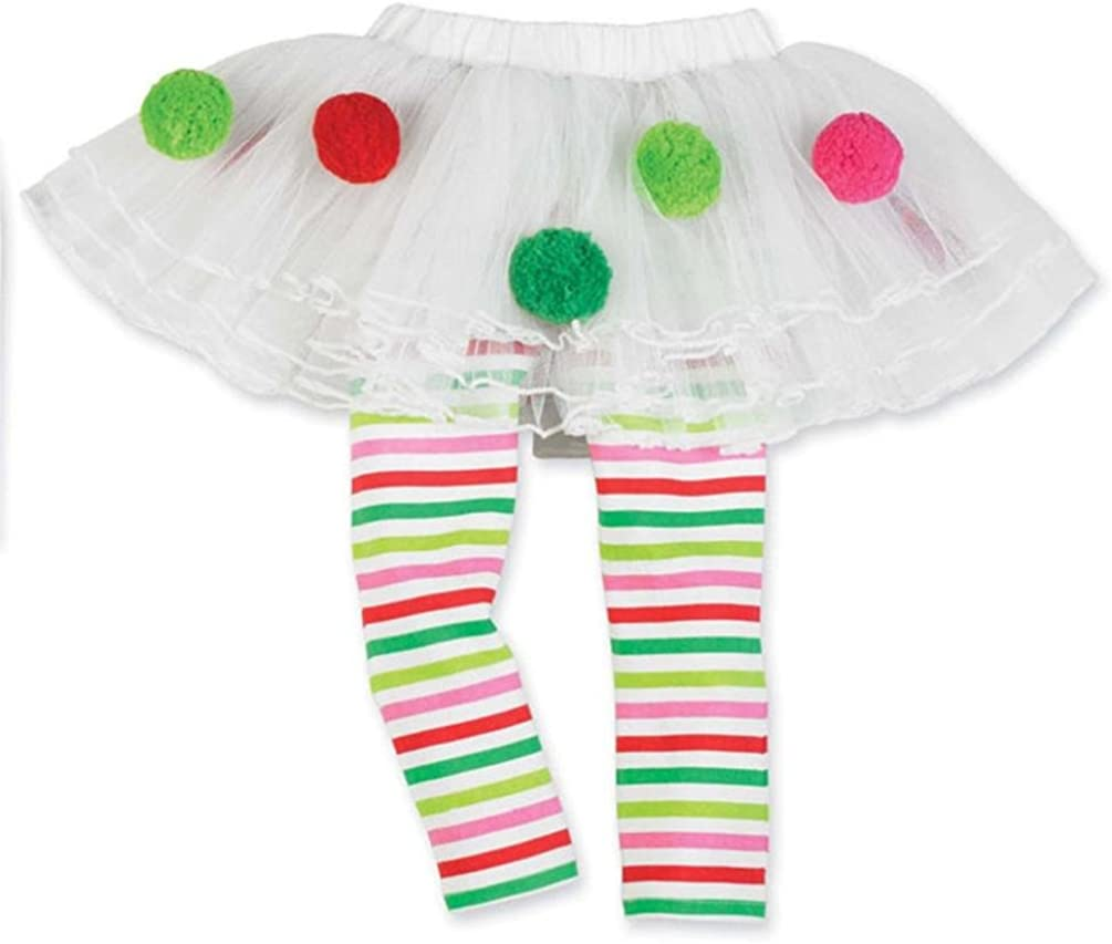TM Elevin Infant Toddler Baby Girls Cute Christmas Santa Elk Cake Tutu Dress