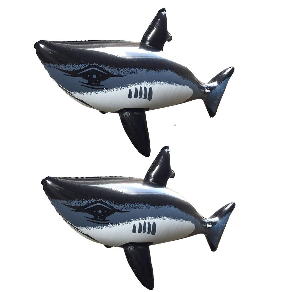 LeeMon - Tiburón Hinchable para el baño, Juguete Hinchable ...