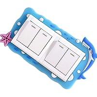 Interruptor de luz Lavable Pegar zócalo Cubierta Protectora