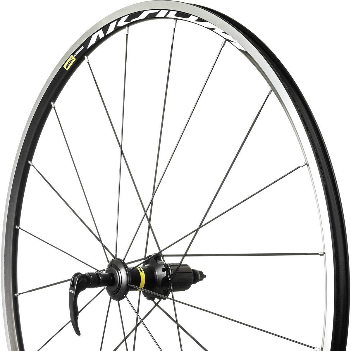 Mavic Aksium Wheel Black, Rear, QR, Shimano/SRAM by Mavic