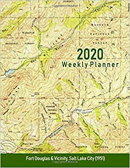 Amazon.com: 2020 Weekly Planner: Fort Douglas & Vicinity ... on mount elbert elevation map, buffalo elevation map, henderson elevation map, topeka elevation map, arches national park elevation map, honolulu elevation map, albany elevation map, syracuse elevation map, fort collins elevation map, madison elevation map, waco elevation map, cincinnati elevation map, grand rapids elevation map, jackson elevation map, utah elevation map, cleveland elevation map, fresno elevation map, st louis elevation map, boulder elevation map, tallahassee elevation map,