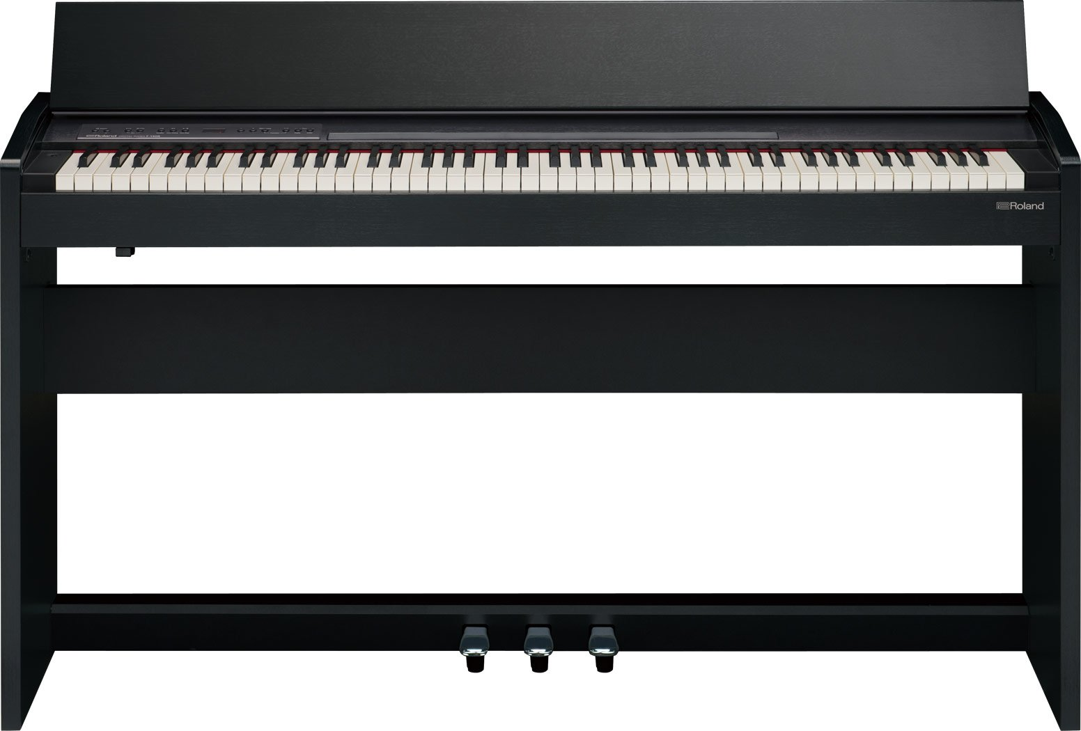 Roland Compact 88-key Digital Piano with Built-In Speaker, contemporary black (F-140R-CB) by Roland