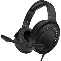 NUBWO Gaming Headset, Gaming Headphones with Noise Canceling Mic for PS4, Xbox One Wireless Controller, Nintendo Switch Lite, PC