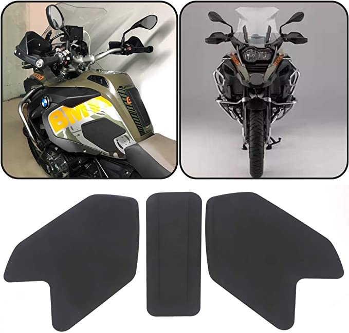 FATExpress Tank Pad for R1200GS ADV Motorcycle Anti Slip Traction Pads Stickers Emblem Side Fuel Gas Tank Grip Decal Protector R 1200 GS Adventure 2014 2015 2016 2017 2018 2019