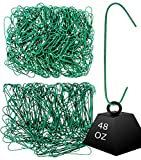 Iconikal 450 Heavy Duty Green Christmas Tree Ornament Hooks