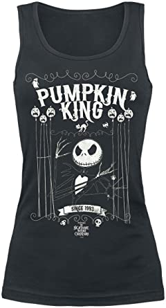 King Jack Girl-Shirt schwarz The Nightmare Before Christmas EZj6u