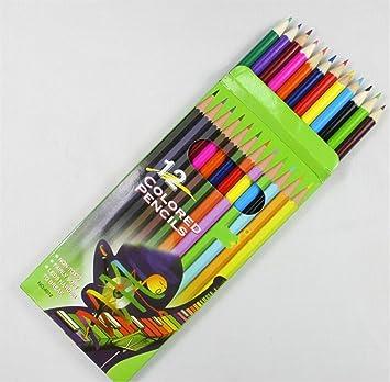Papelería y Oficina 12 Piezas lápices de Colores para ...