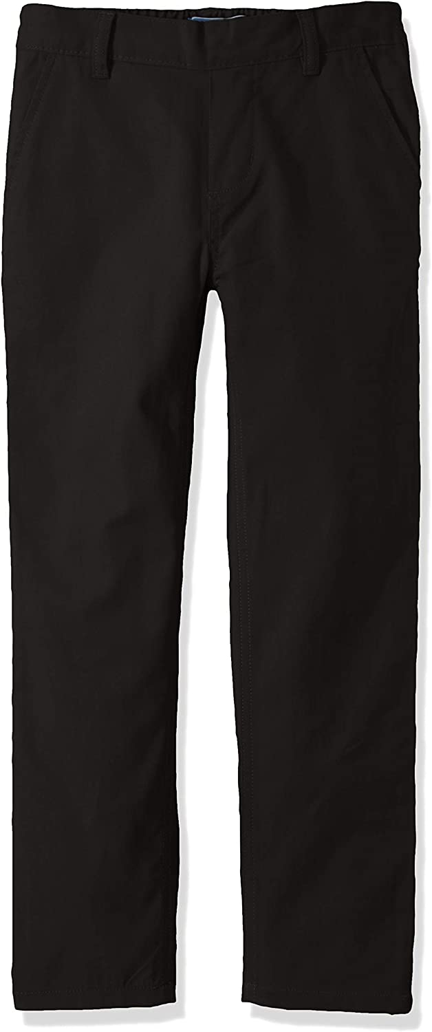 Cherokee School Uniforms Boys Big Relaxed Fit Twill Pull-on Pant
