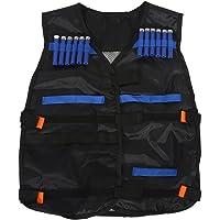 Tbest Kit de Chaleco táctico para niños para Nerf Guns N-Strike Elite Series Regalo Perfecto para Juegos de niños con Balas de munición Bullets Dardos