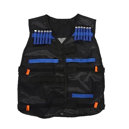 Tbest Kit de Chaleco táctico para niños para Guns N-Strike Elite ...
