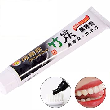 amazon com goodping black bamboo charcoal toothpaste whitening