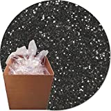 Glitter My World! Craft Glitter: 25lb Box: Gunmetal Grey