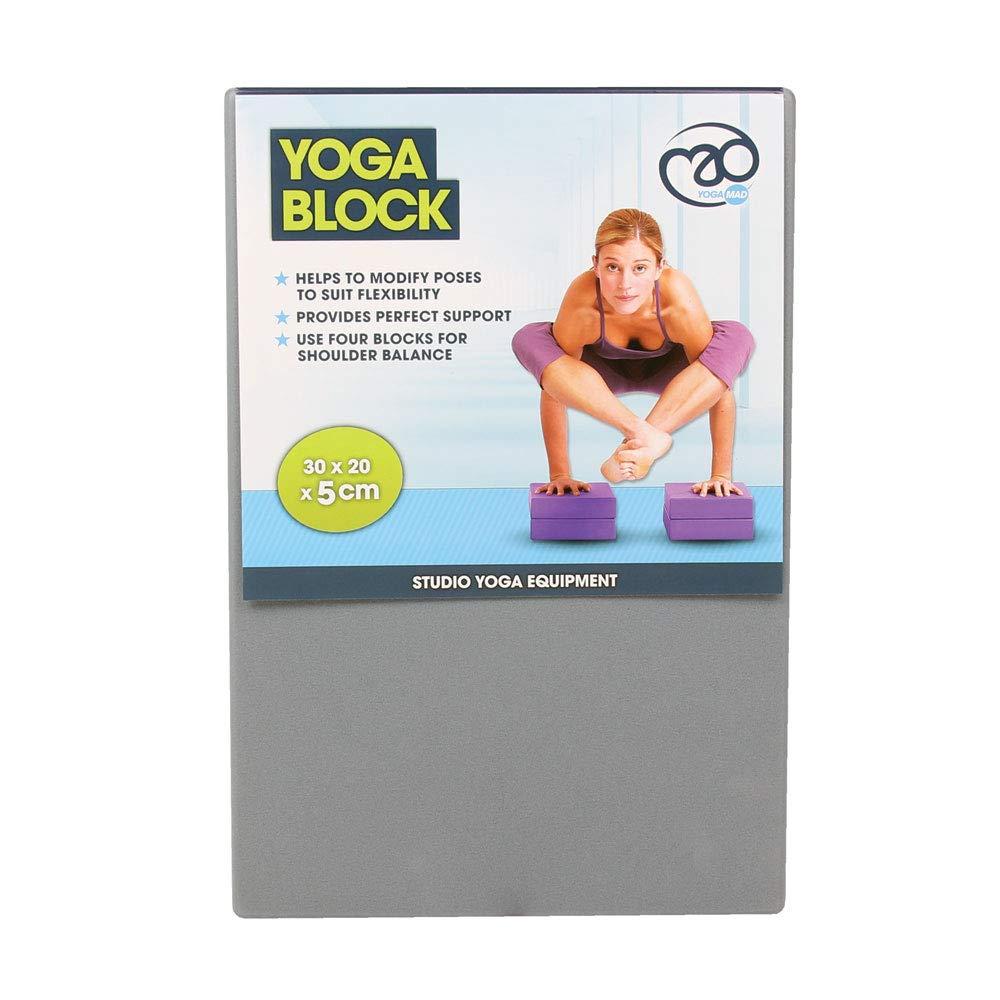 Amazon.com : Graphite Yoga Exercise Block : Sports & Outdoors