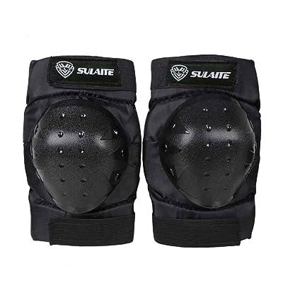 Qlan Knee Elbow Cycling Skating Scooter Skateboard Ensemble de plaquettes de protection pour poignet
