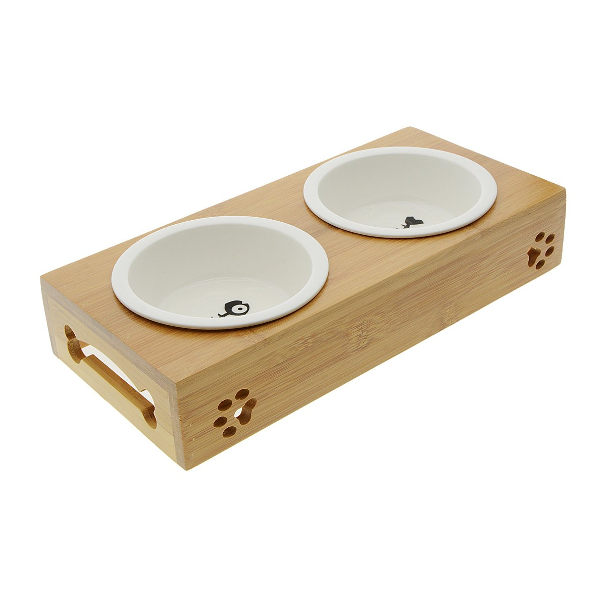 Saim Small Dogs and Cats Bowls Elevated Pet Feeder by Saim (Image #1)